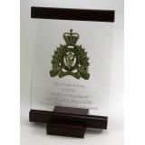 Standing Rosewood & Acrylic Award