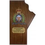Manitoba Provincial Plaque