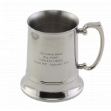 16 oz Double Wall Stainless Steel Thermal Tankard