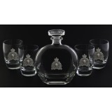 4 on the Rocks - Belfast Decanter Set