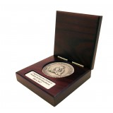 RCMP Collector Coin in Rosewood Gift Box