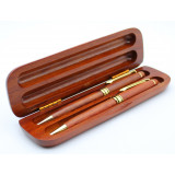 Rosewood Pen & Pencil Duo Set