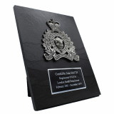 Crested Slate Plaque