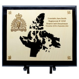Provincial Piano Finished Plaque