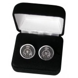Set of 2 RCMP Insignia Cufflinks, nested in gift box