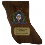 Crested British Columbia Plaque