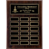 "10.5"" x 13"" Cherry Perpetual Plaque"