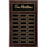 "12"" x 15"" Cherry Perpetual Plaque"