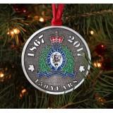 Full Colour RCMP Canada 150 Ornament