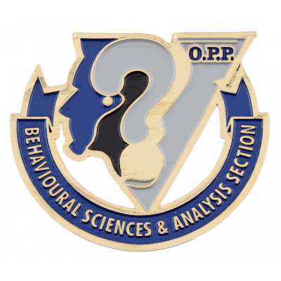 OPP Behavioral Sciences & Analysis Section Crest