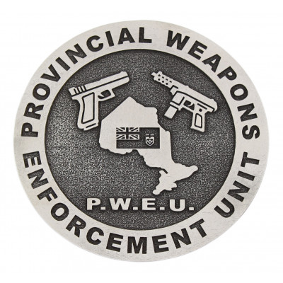 OPP Provincial Weapons Enforcement Unit Crest