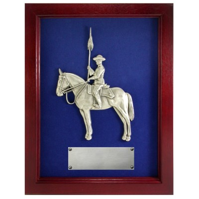 "Framed ""Musical Ride"" Plaque"