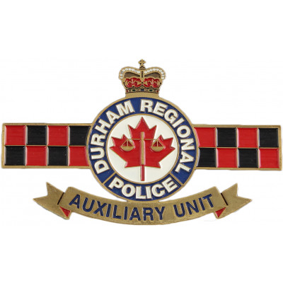 Durham Regional Police Auxiliary Unit Crest