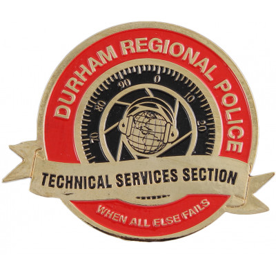 Durham Regional Police Technical Services Section Crest