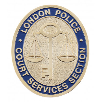 London Court Services Section Crest