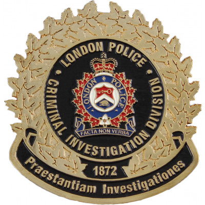 London Criminal Investigations Division Crest