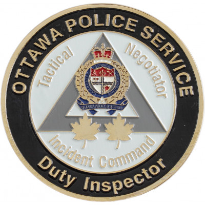 Ottawa Police Services Duty Inspector Crest