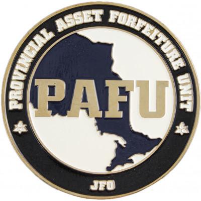 OPP Provincial Asset Forfeiture Unit Crest