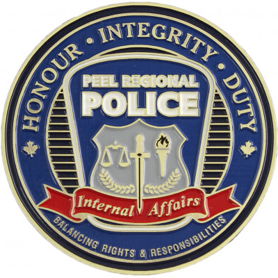 Peel Regional Police Internal Affairs Crest