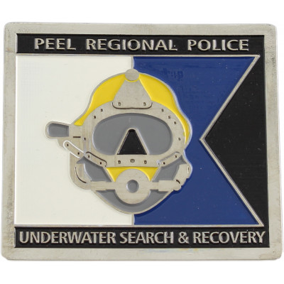 Peel Regional Police Underwater Search and Recovery Crest