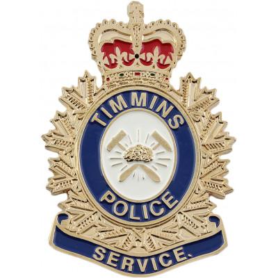 Timmins Police Crest