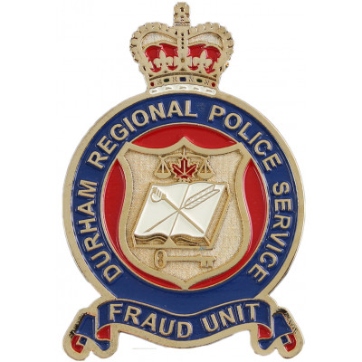 Durham Regional Police Services Fraud Unit Crest
