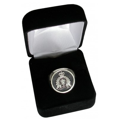 Men's RCMP Signet Ring in a gift box