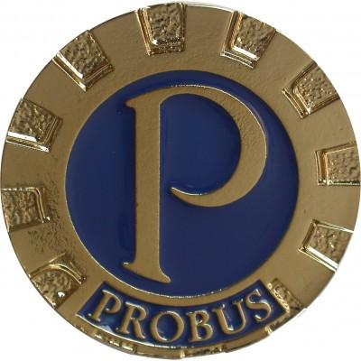 """0.75"""" Cast Probus Crest"""
