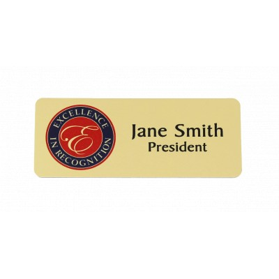Full-Colour Sublimated Name Badge