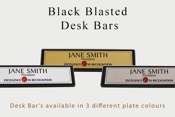 Shop online for Desk Name Bars, Double Sided BMO-Blue Desk Name Bars